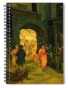 Market In Paris Spiral Notebook