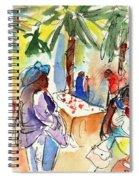 Market In Teguise In Lanzarote 03 Spiral Notebook