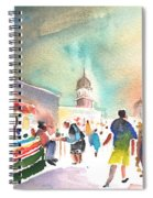 Market In Teguise In Lanzarote 06 Spiral Notebook