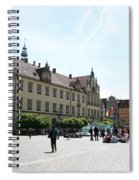 Market Place Wroclaw Spiral Notebook