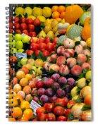 Market Time II Spiral Notebook