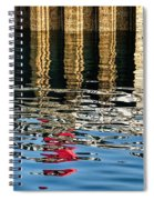 Marking The Tides Spiral Notebook