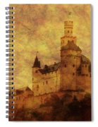 Marksburg Castle In The Rhine River Valley Spiral Notebook