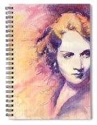 Marlen Dietrich 1 Spiral Notebook