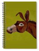 Marlene The Mule Spiral Notebook