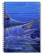 Marlin Mirror Off0022 Spiral Notebook