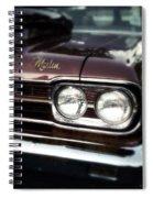Marlin Spiral Notebook