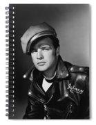 Marlon Brando In The Wild One 1953 Spiral Notebook