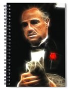 Marlon Brando Spiral Notebook