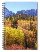 Maroon Bells Beauty Spiral Notebook