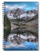 Maroon Bells Sunrise Spiral Notebook