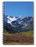 Maroon Bells Spiral Notebook