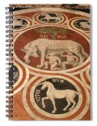 Marple Floor - Cathedral Siena Spiral Notebook