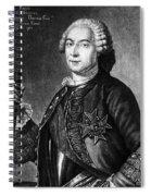 Marquis De Vaudreuil (1698-1778) Spiral Notebook