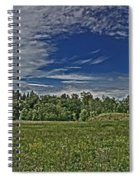 Marred Beauty Flight 93 Spiral Notebook