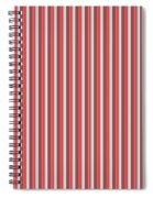 Marsala Stripe 2 Spiral Notebook
