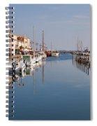 Marseillan Harbour Spiral Notebook