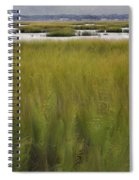 Marsh At Milford Point Spiral Notebook
