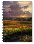 Marsh At Sunrise Spiral Notebook