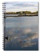 Marsh Boardwalk Spiral Notebook