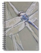 Marsh Dragonfly Spiral Notebook