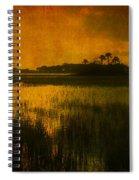Marsh Island Sunset Spiral Notebook