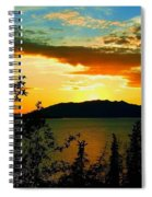 Marsh Lake - Yukon Spiral Notebook
