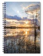 Marsh Sunrise Spiral Notebook