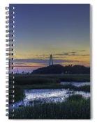 Marsh To Bridge Spiral Notebook