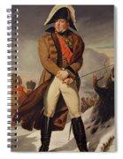 Marshal Michel Ney 1769-1815 Duke Of Elchingen Oil On Canvas Spiral Notebook