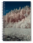 Marshall Pond In Infrared Spiral Notebook