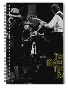 Marshall Tucker At Winterland 1976 Spiral Notebook