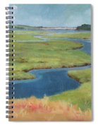Marshes At High Tide Spiral Notebook