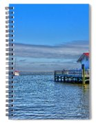 Marshes Lighthouse Spiral Notebook