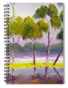 Marshlands Murray River Red River Gums Spiral Notebook