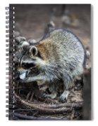 Marshmallow Muncher Spiral Notebook