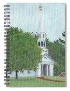 Martha Mary Chapel Spiral Notebook