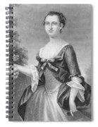 Martha Washington (1732-1801) Spiral Notebook