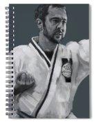 Martial Willie Spiral Notebook