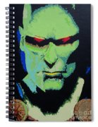 Martian Manhunter - A Close Encounter Spiral Notebook