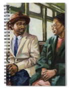 Martin And Rosa Up Front Spiral Notebook
