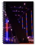 Martin Luther King Jr Bridge Lit Up Spiral Notebook