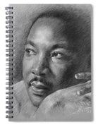 Martin Luther King Jr Spiral Notebook