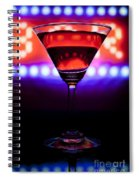 Martini Bar Spiral Notebook