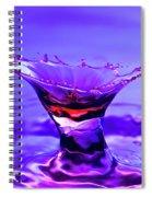 Martini Splash Spiral Notebook