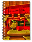 Martini Time Spiral Notebook