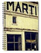 Martins General Store Spiral Notebook