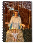 Mary And Baby Jesus Spiral Notebook
