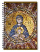 Blessed Virgin Mary And The Child Jesus Spiral Notebook
