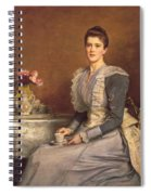 Mary Chamberlain Spiral Notebook